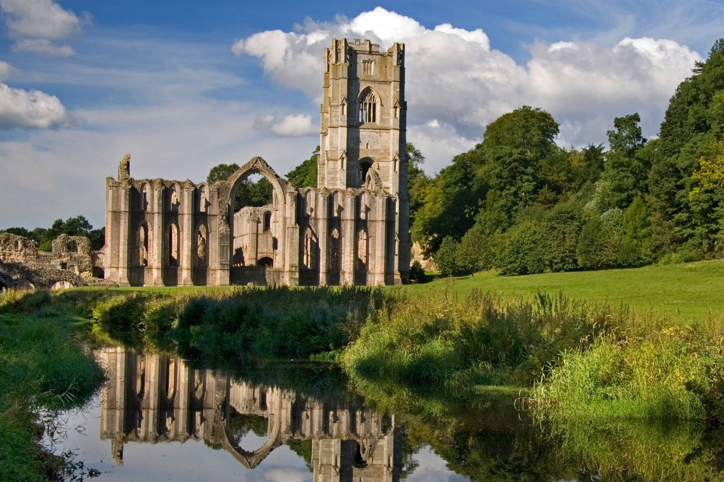 World Heritage Site- Fountains Abbey